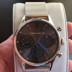 Vince Camuto NWT Stainless Steel Multi Dial Watch